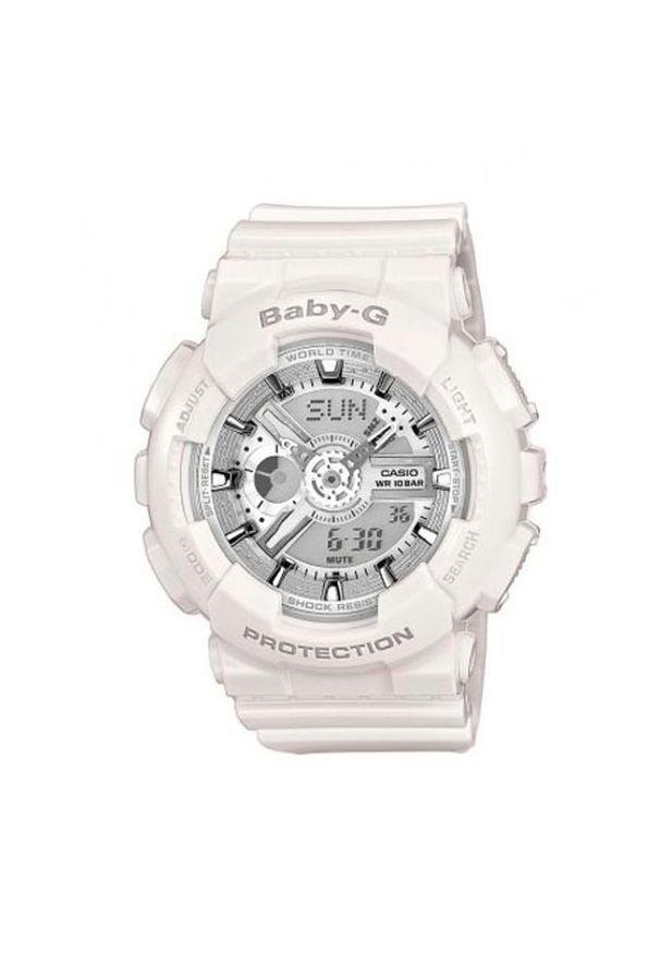 Biały zegarek Baby-G