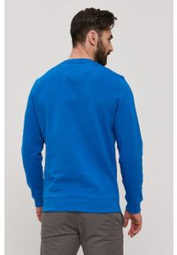 Niebieska bluza nierozpinana Lyle & Scott bez kaptura, na co dzień, casualowa