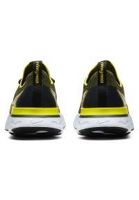Buty męskie do biegania Nike React Infinity Run Flyknit CD4371. Materiał: materiał, guma. Szerokość cholewki: normalna. Wzór: ze splotem. Model: Nike Motion, Nike Zoom. Sport: bieganie