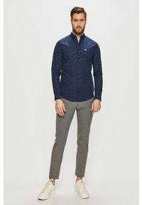 Niebieska koszula Tommy Jeans z długim rękawem, casualowa, na co dzień #5