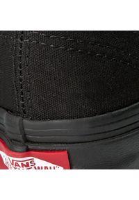 Czarne buty sportowe z cholewką, Vans Authentic