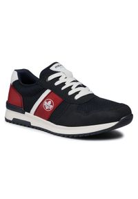 Rieker Sneakersy 16112-15 Granatowy. Kolor: niebieski