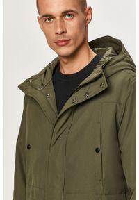 Zielona kurtka Only & Sons z kapturem, casualowa, na co dzień
