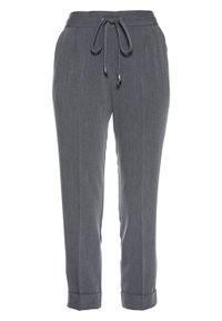 Szare spodnie bonprix melanż