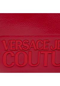 Versace Jeans Couture - Torebka VERSACE JEANS COUTURE - E1VVBBM7 71412 500. Kolor: czerwony. Materiał: skórzane. Styl: klasyczny