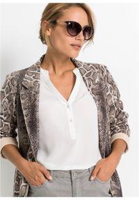 Okulary przeciwsłoneczne bonprix brązowy