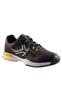 ARTENGO - Buty tenisowe męskie na każdą nawierzchnię Artengo TS500. Kolor: żółty, wielokolorowy, szary, niebieski, czarny, pomarańczowy. Materiał: kauczuk. Szerokość cholewki: normalna. Sport: tenis