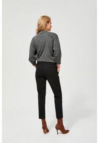 Czarne spodnie MOODO długie