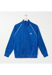 Niebieska bluza Sinsay ze stójką, sportowa