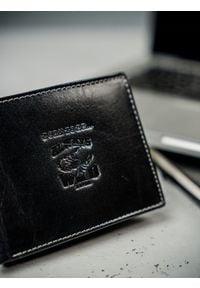 ALWAYS WILD - Portfel męski skórzany RFID Always Wild N992-BC czarny. Kolor: czarny. Materiał: skóra