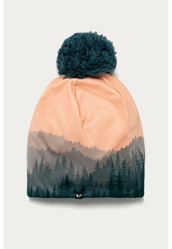Pomarańczowa czapka Viking