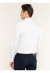 Biała koszula biznesowa BOSS