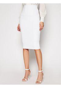 Biała spódnica Elisabetta Franchi