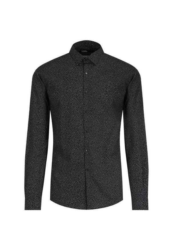 Czarna koszula Karl Lagerfeld