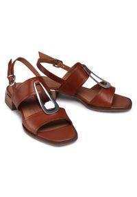 Brązowe sandały Caprice