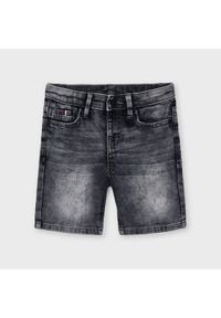 Mayoral Szorty jeansowe 3239 Szary Regular Fit. Kolor: szary. Materiał: jeans