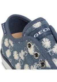 Geox - Tenisówki GEOX - J Ciak G. C J0204C 000DS C4005 S Avio. Okazja: na co dzień. Kolor: niebieski. Materiał: materiał. Szerokość cholewki: normalna. Styl: casual