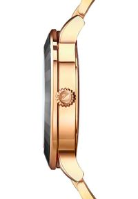 Swarovski - Zegarek Octea Lux. Kolor: czarny. Materiał: materiał