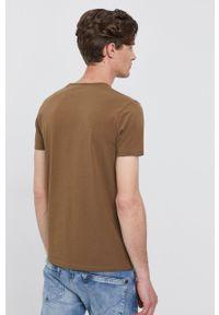 Pepe Jeans - T-shirt ORIGINAL BASIC. Okazja: na co dzień. Kolor: zielony. Materiał: dzianina. Wzór: gładki. Styl: casual