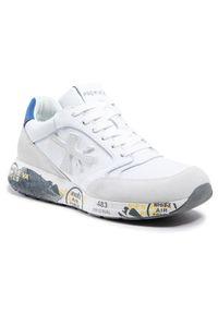 Premiata Sneakersy Zaczac 4555 Biały. Kolor: biały