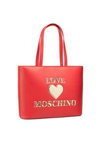 Love Moschino - LOVE MOSCHINO Torebka JC4051PP1CLF0500 Czerwony. Kolor: czerwony