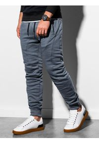 Szare spodnie Ombre Clothing #6