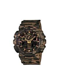 Brązowy zegarek G-Shock