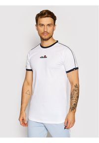 Ellesse T-Shirt Riesco SHJ11915 Biały Regular Fit. Kolor: biały