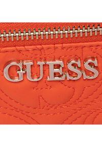 Pomarańczowy plecak Guess
