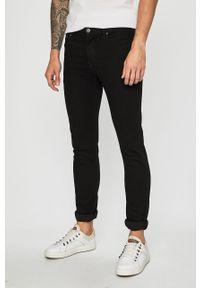 Czarne jeansy Jack & Jones z aplikacjami