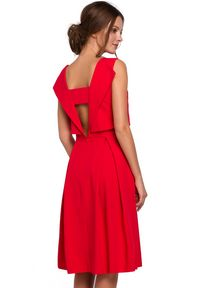 Sukienka na imprezę elegancka, midi