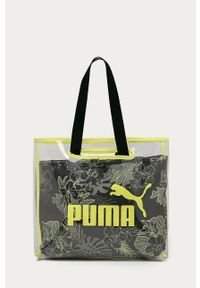 Czarna shopperka Puma duża