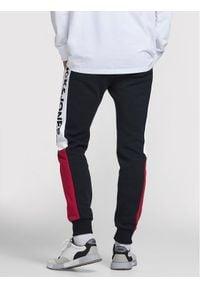 Jack & Jones - Jack&Jones Spodnie dresowe Will 12197199 Granatowy Regular Fit. Kolor: niebieski. Materiał: dresówka