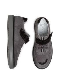 RenBut - Sneakersy RENBUT - 33-4416 Popiel. Okazja: na spacer, na co dzień. Zapięcie: rzepy. Kolor: szary. Materiał: skóra, zamsz. Szerokość cholewki: normalna. Styl: casual #2