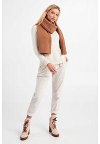 Marella - SZAL SFOGO MARELLA. Materiał: tkanina, wełna, elastan