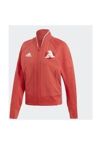 Adidas - Bluza damska adidas FI9213. Długość rękawa: raglanowy rękaw