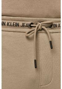 Spodnie dresowe Calvin Klein Jeans gładkie