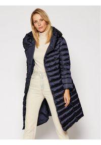 Niebieski płaszcz zimowy Hetrego