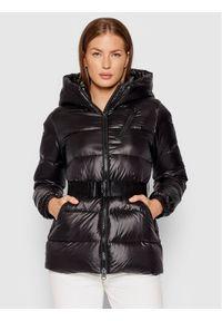 Calvin Klein Kurtka puchowa Belted K20K203054 Czarny Regular Fit. Kolor: czarny. Materiał: puch