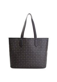 Czarna torebka klasyczna Pollini klasyczna, skórzana