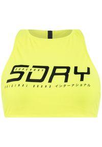 Żółte góra bikini Superdry