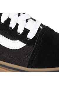 Vans - Tenisówki VANS - Old Skool VN0001R1GI61 (Gumsole)Black/Medium Gum. Okazja: na co dzień. Kolor: czarny. Materiał: materiał, zamsz, skóra. Szerokość cholewki: normalna. Styl: casual. Model: Vans Old Skool