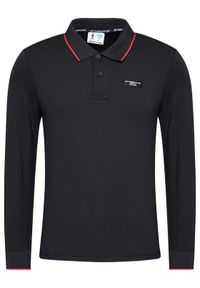 Czarna koszulka polo North Sails polo