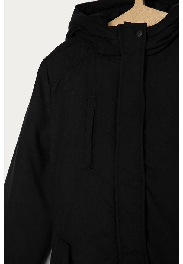 Czarna kurtka LMTD na co dzień, casualowa, z kapturem