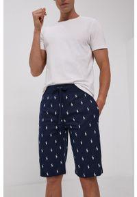 Polo Ralph Lauren - Szorty piżamowe. Kolor: niebieski. Materiał: dzianina