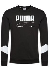 Puma Bluza Rebel 585740 Czarny Regular Fit. Kolor: czarny