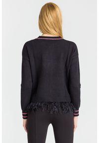 Sweter Guess na spacer, z długim rękawem, krótki