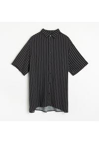 Czarna koszula Reserved w paski