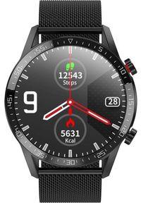 Smartwatch KingWear L13 Czarny (SMARTWATCH L13 BLACK). Rodzaj zegarka: smartwatch. Kolor: czarny
