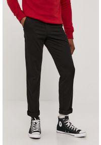 Czarne spodnie PRODUKT by Jack & Jones gładkie